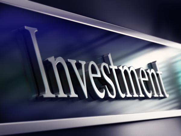 investment word, bank facade, making investments